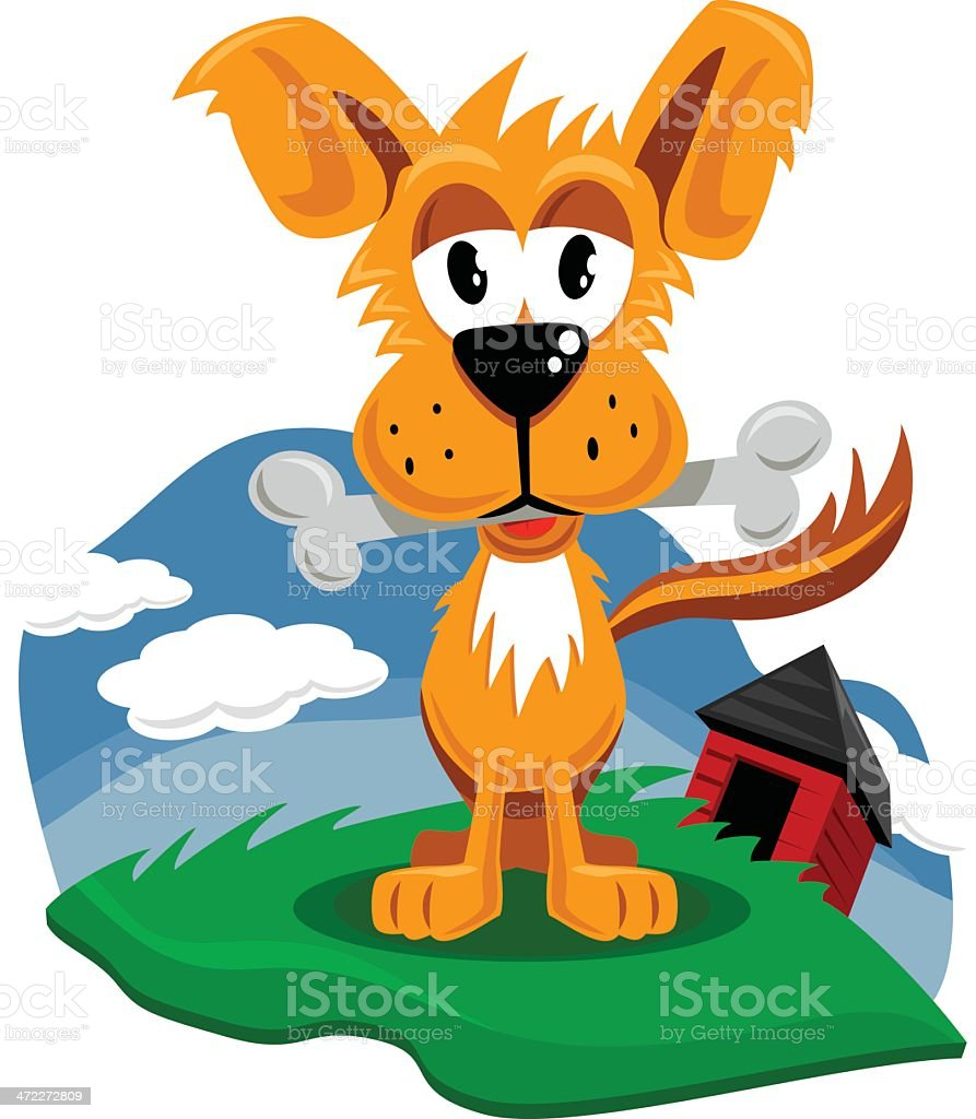 Dog Treat vector art illustration