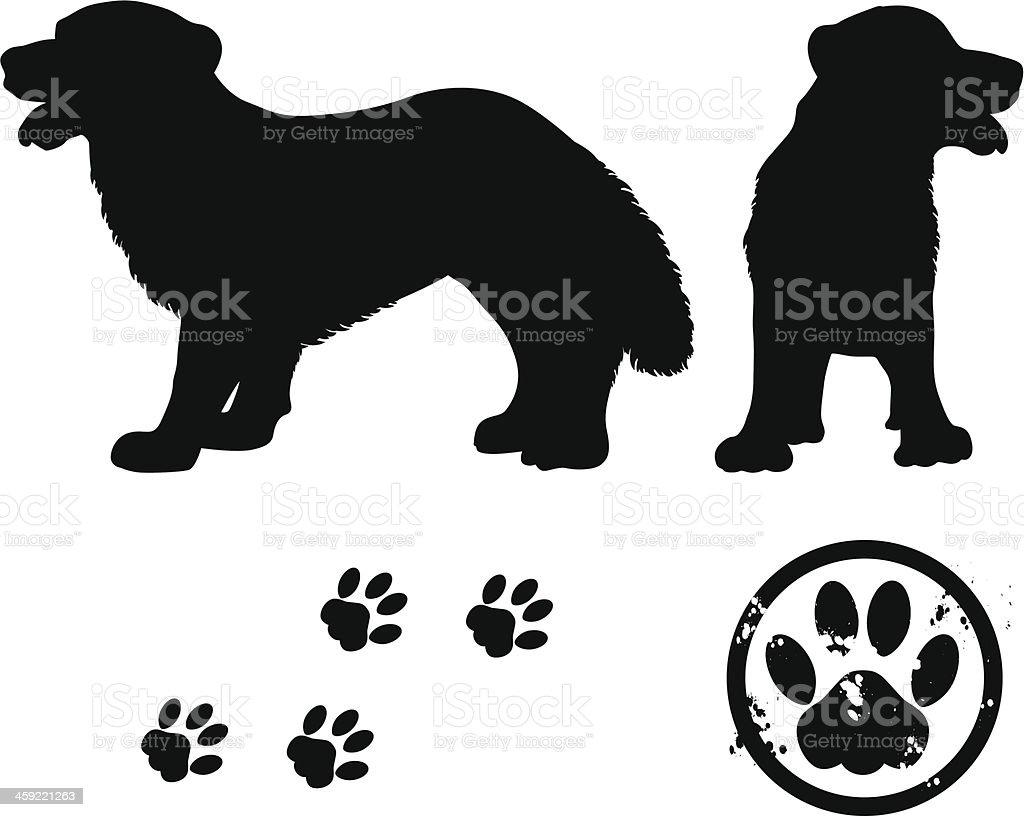 dog royalty-free stock vector art