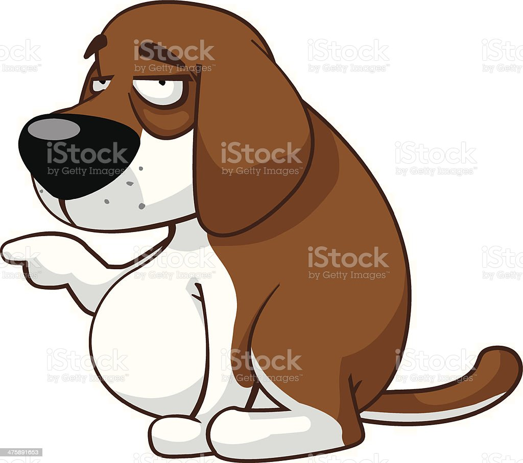 Dog royalty-free stock vector art