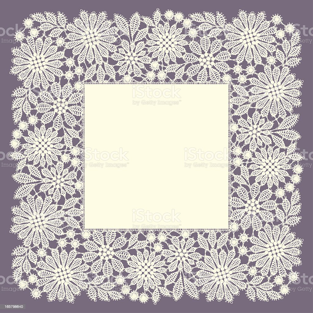 Doily. royalty-free stock vector art