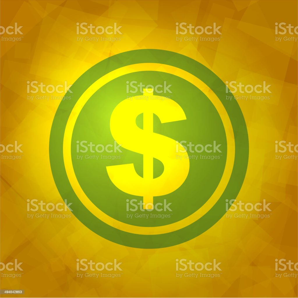Dollar Icon royalty-free stock vector art