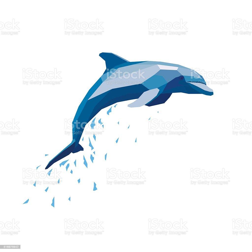 Dolphin stock vecteur libres de droits libre de droits