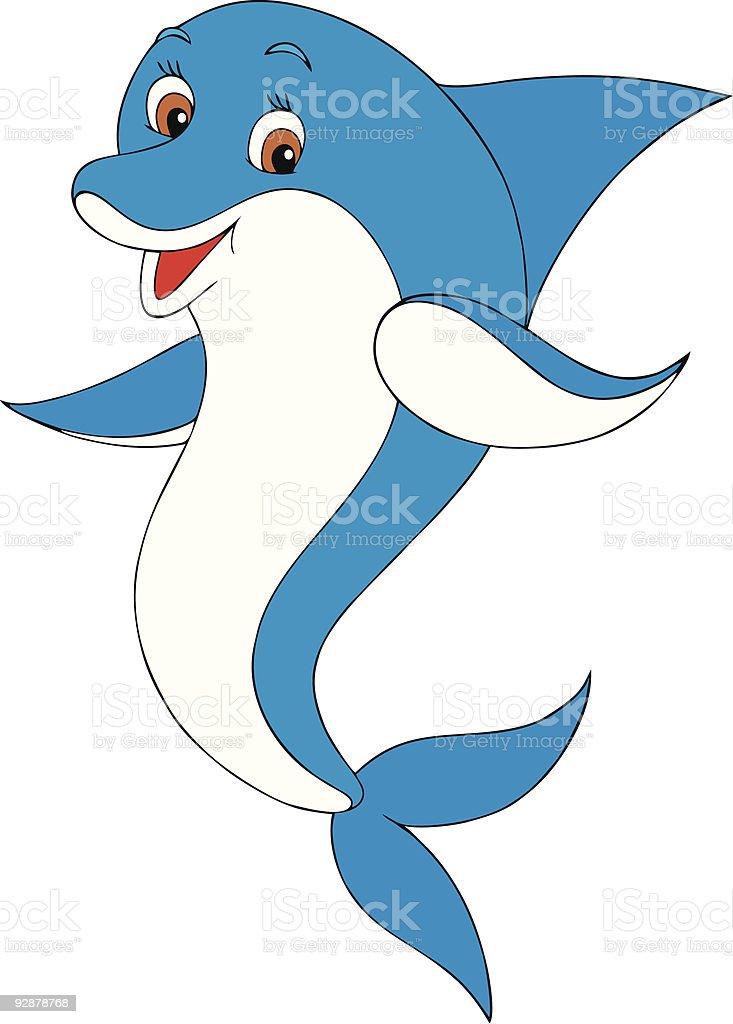 Dolphin royalty-free stock vector art