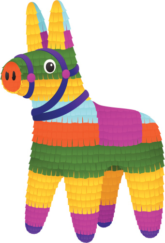 Pinata Clip Art, Vector Images & Illustrations - iStock