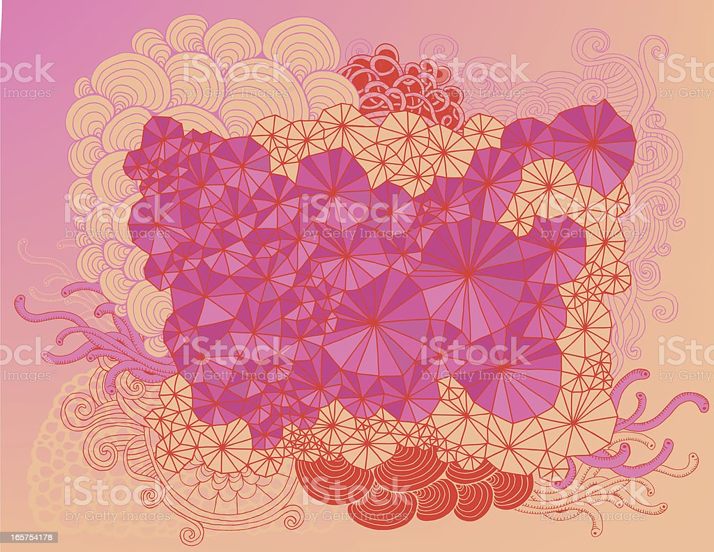 Doodle composition royalty-free stock vector art