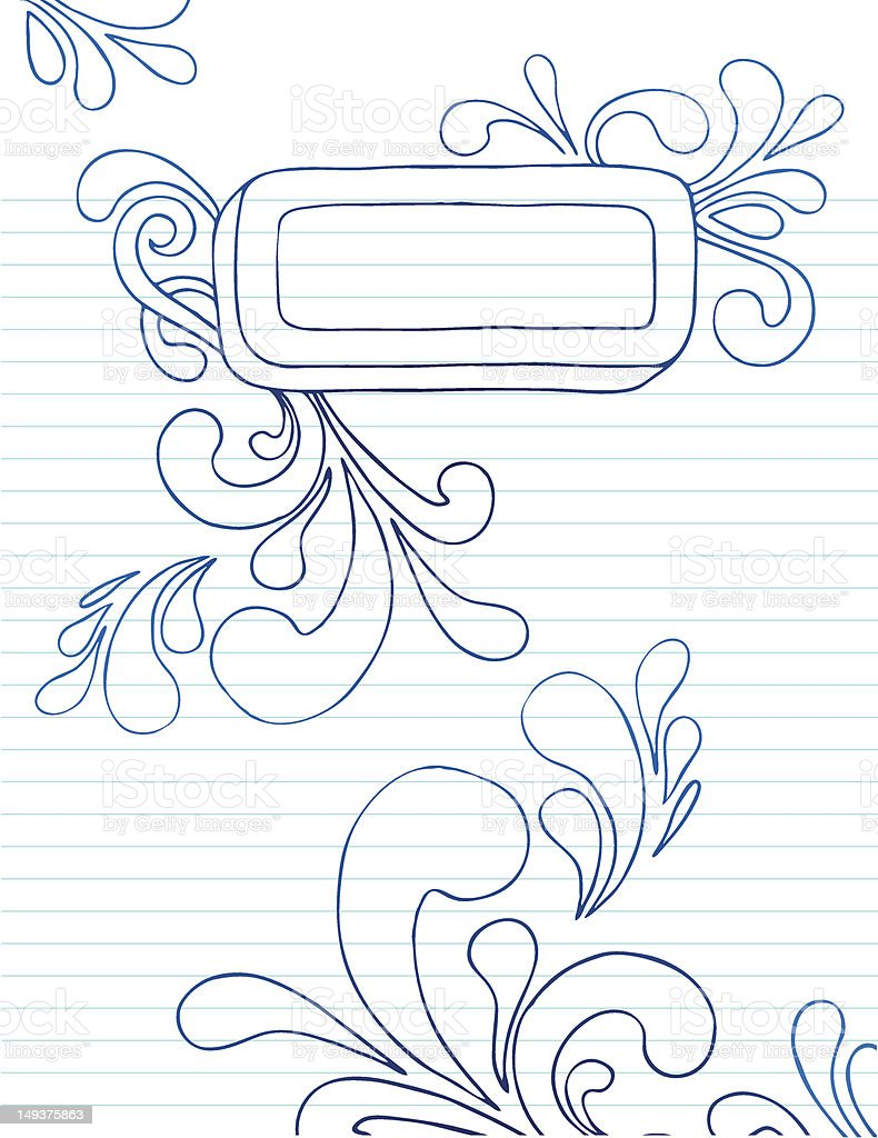 Doodle Frame royalty-free stock vector art