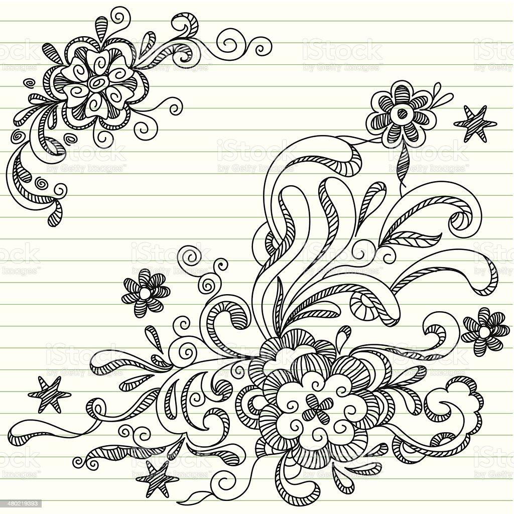 Doodle  Template vector art illustration