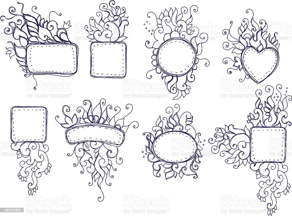 doodle royalty-free stock vector art