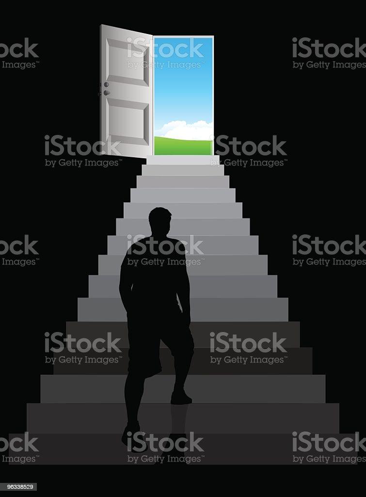 Doorway royalty-free stock vector art