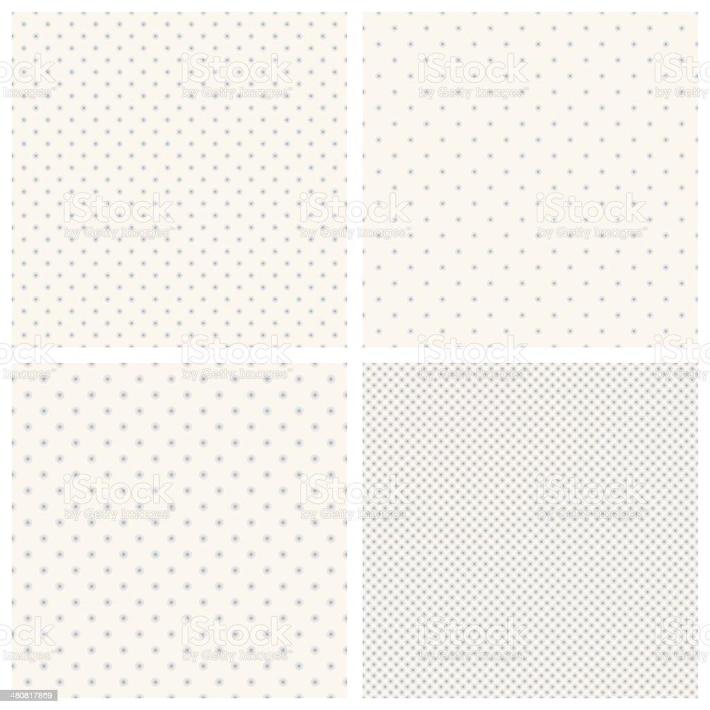 Dot backgrounds vector art illustration