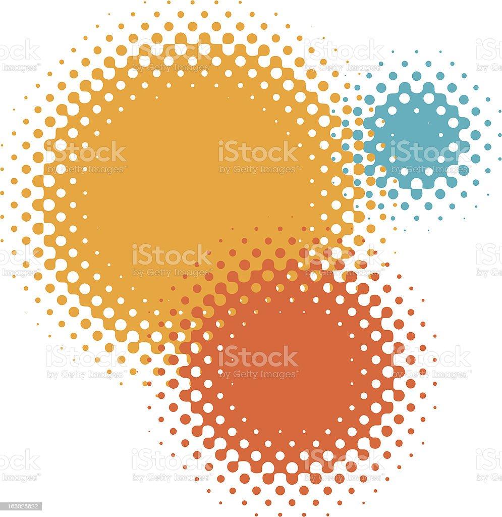 dot gain vector art illustration
