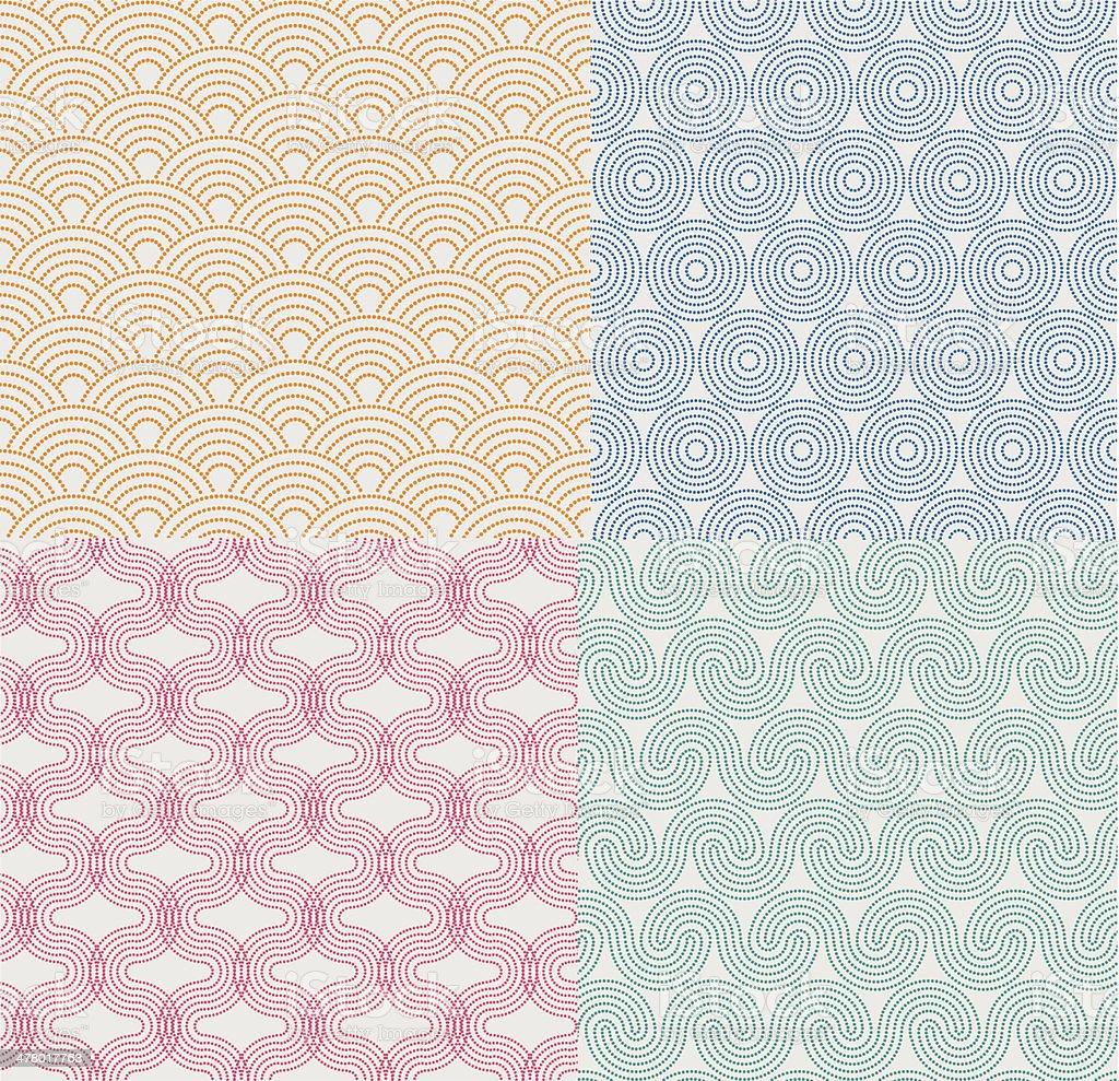 Dot Pattern vector art illustration