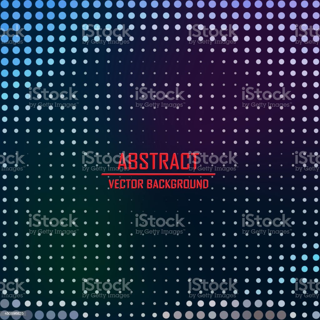 Dotted background. Vector Illustration. royalty-free stock vector art