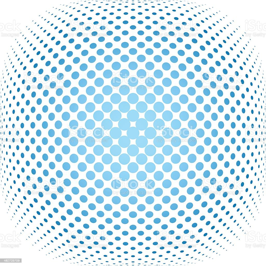 dotted halftone background royalty-free stock vector art