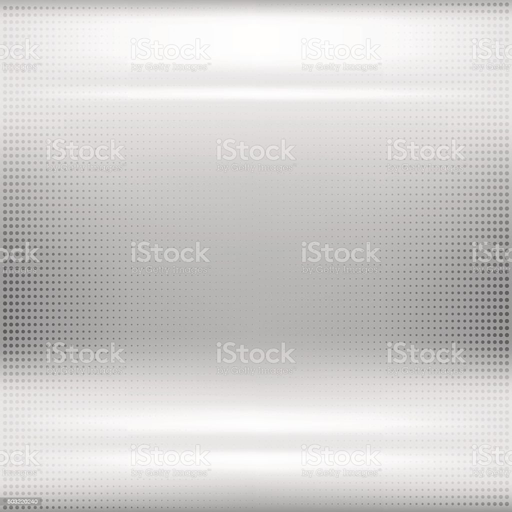 Dotted metal abstract background vector art illustration