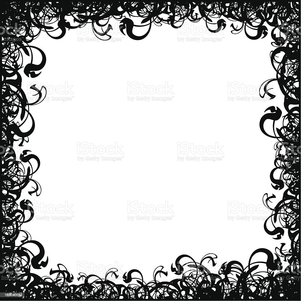 Double Frame royalty-free stock vector art