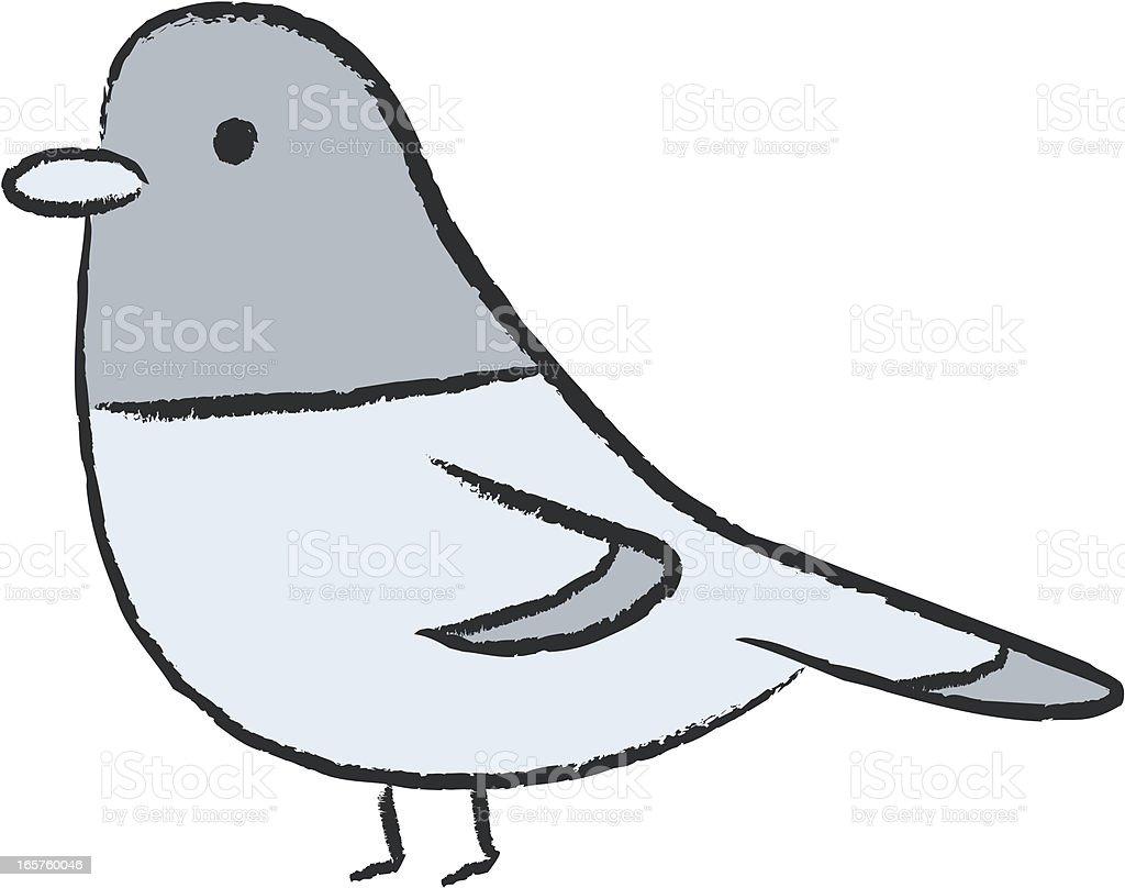 dove / pigeon vector art illustration