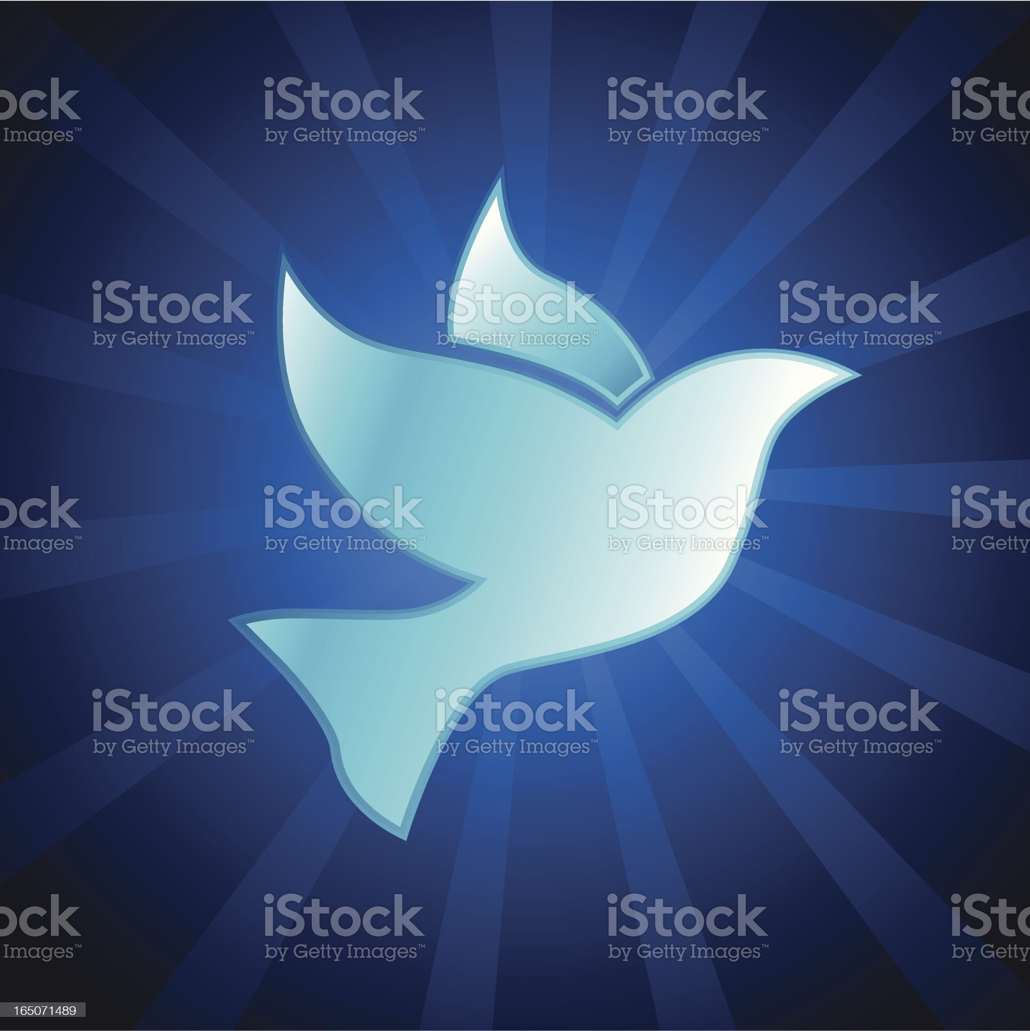 Dove symbol royalty-free stock vector art