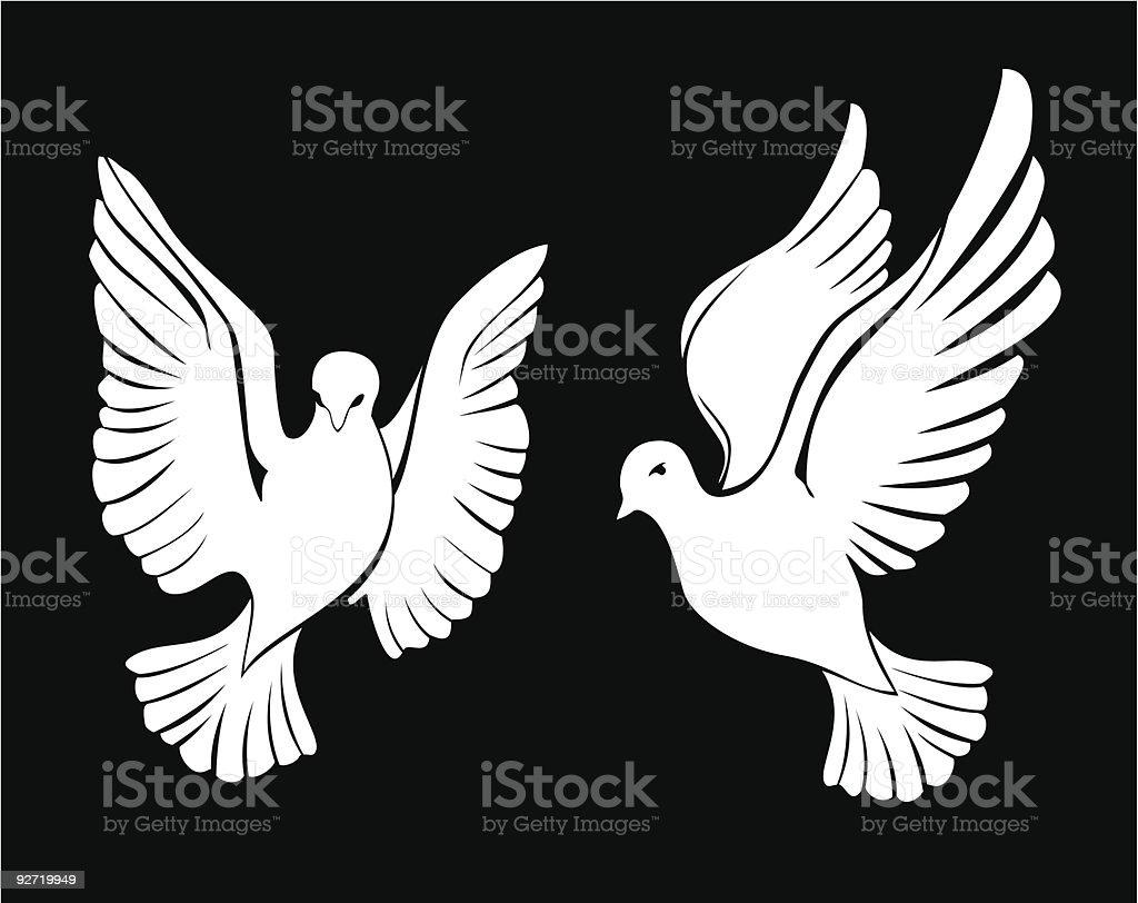 dove royalty-free stock vector art