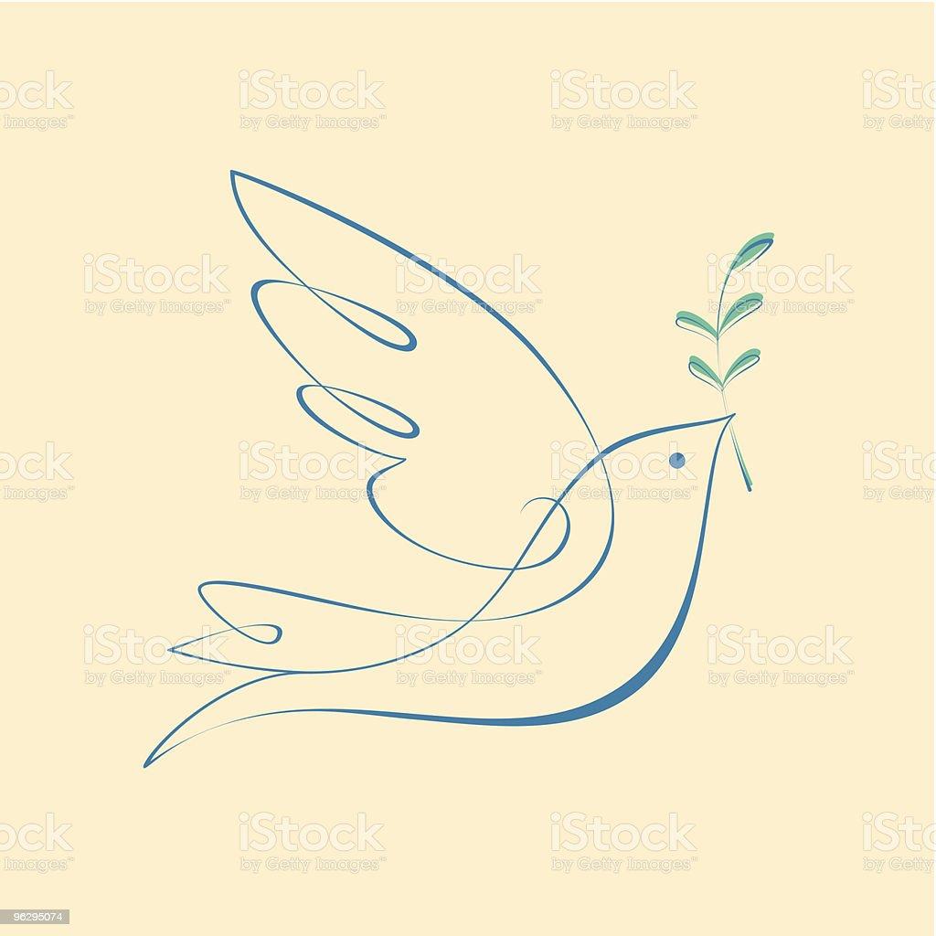 Dove_of_Peace vector art illustration