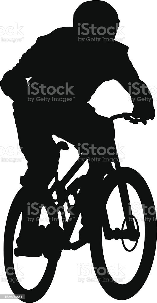Downhill royalty-free stock vector art