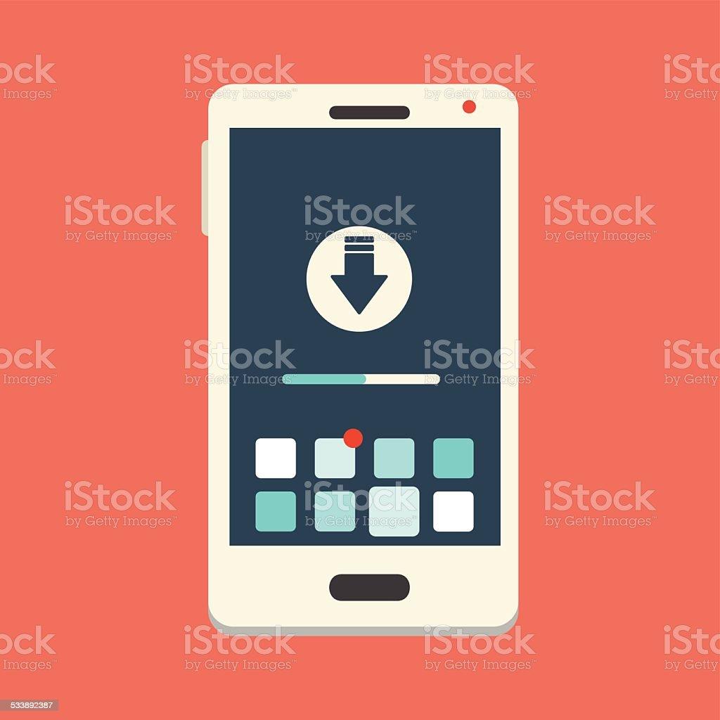 Download Smartphone Icon vector art illustration