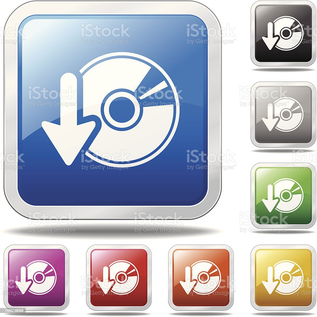 Download Software Icon royalty-free stock vector art