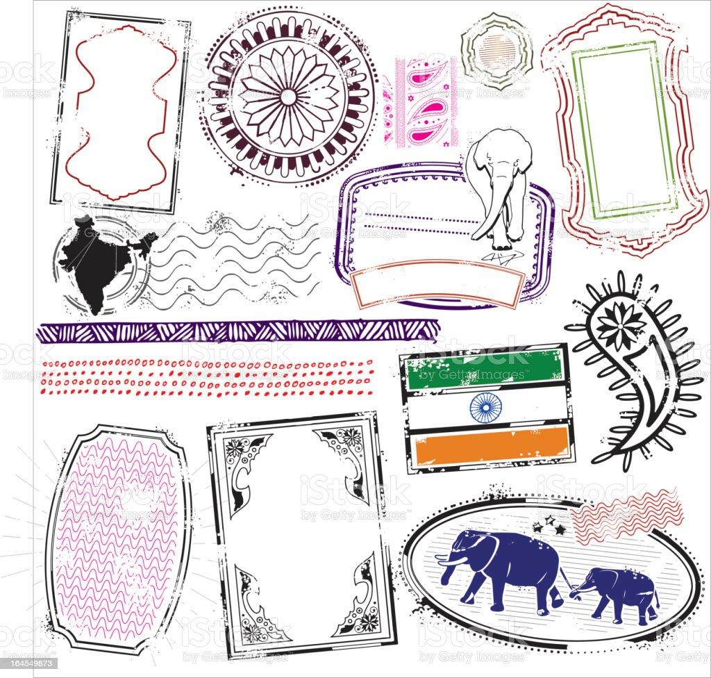 Dr. Bombay vector art illustration