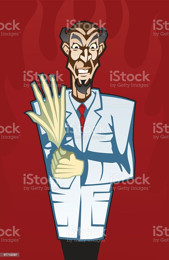 Dr. Procto royalty-free stock vector art