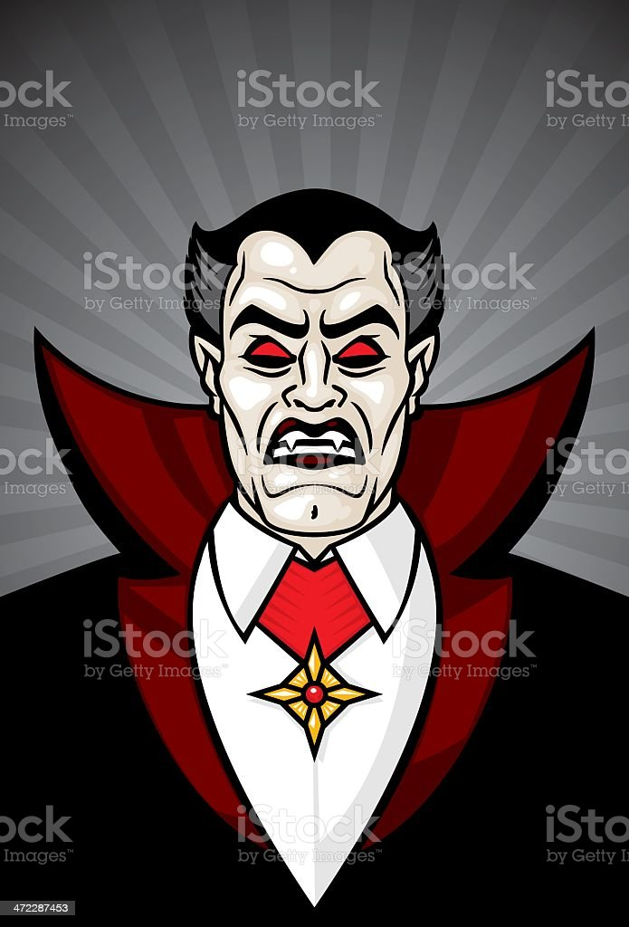 dracula royalty-free stock vector art