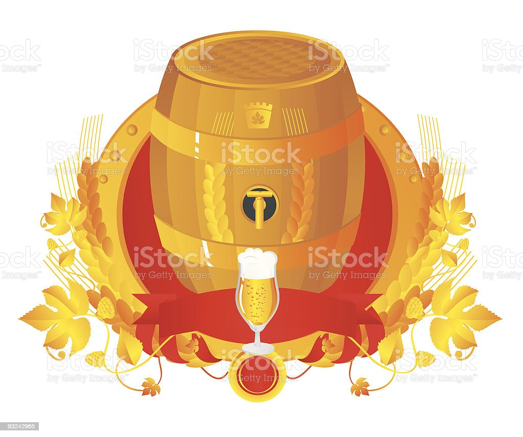 DraughtVignetteRed royalty-free stock vector art