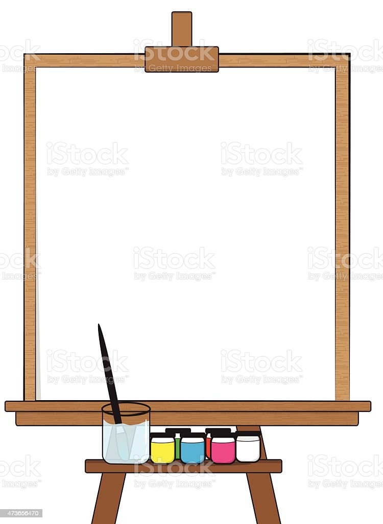 Drawing board stock vector art 473656470 istock for The drawing board