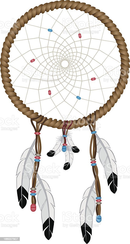Dreamcatcher royalty-free stock vector art