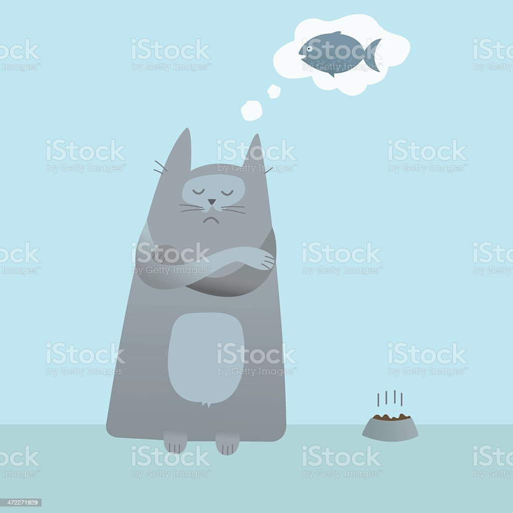 Dreaming of a better life vector art illustration