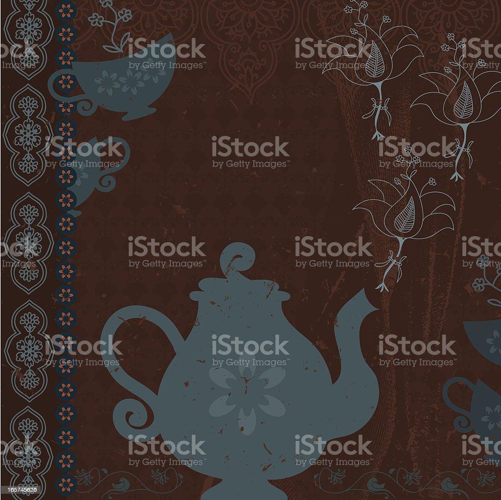 Dreamscape - Tea royalty-free stock vector art