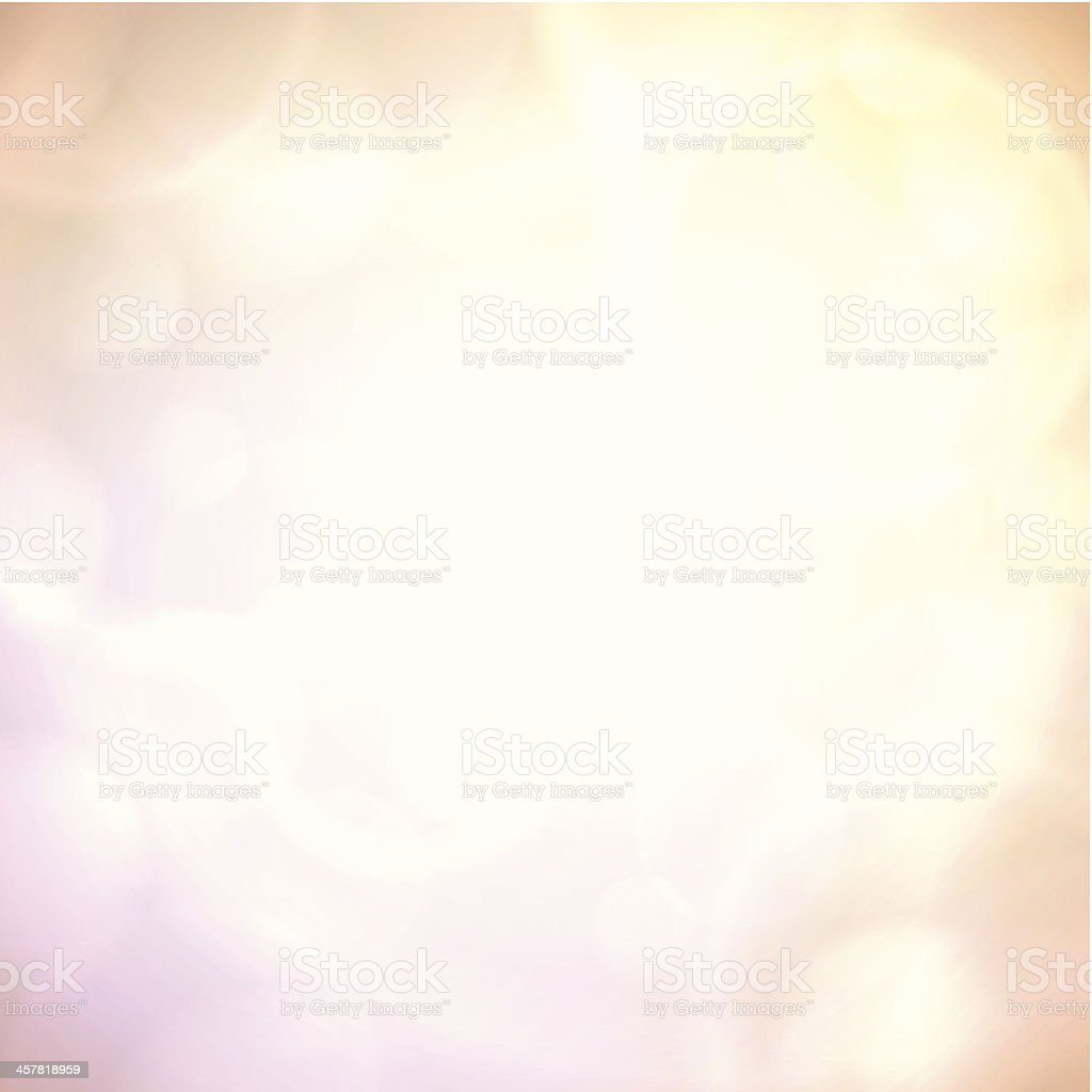 Dreamy atmosphere vector art illustration