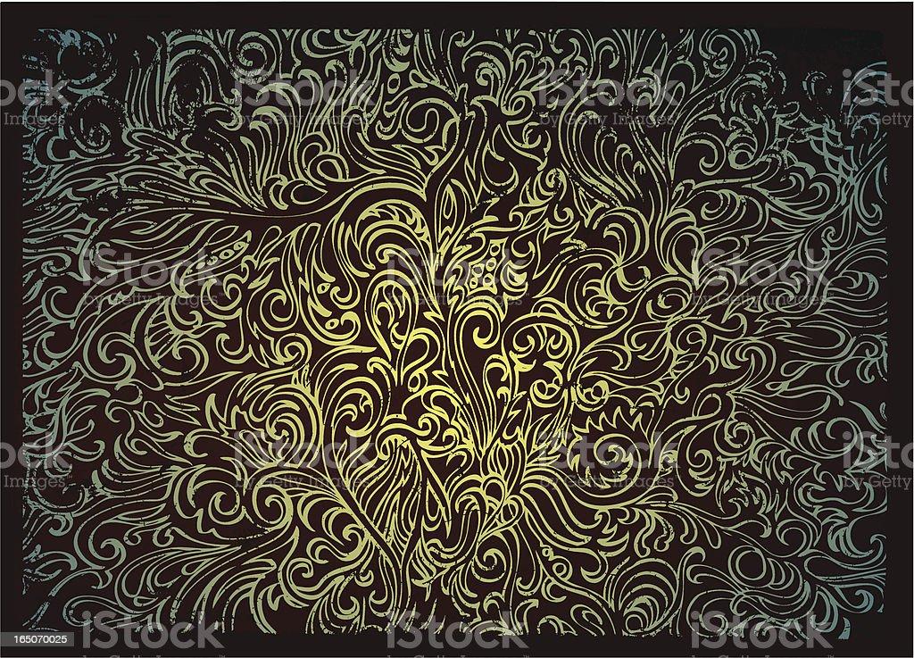 Traumhafte forest Lizenzfreies vektor illustration