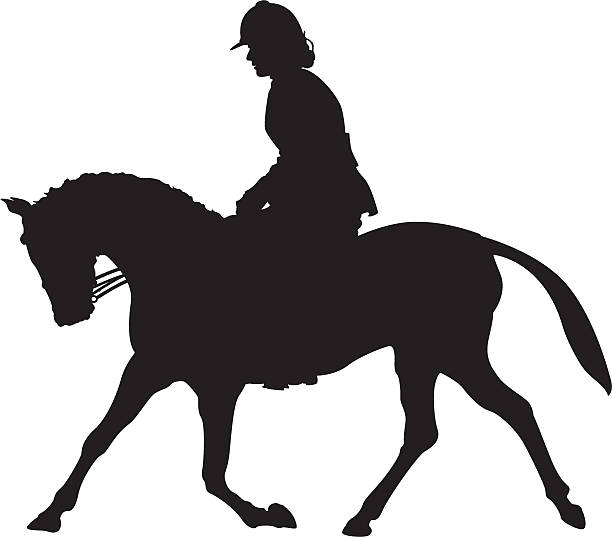 Dressage Clip Art, Vector Images & Illustrations - iStock