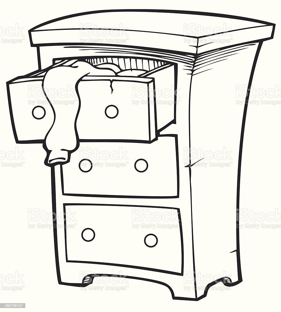 drawer clip art black and white cliparts. Black Bedroom Furniture Sets. Home Design Ideas