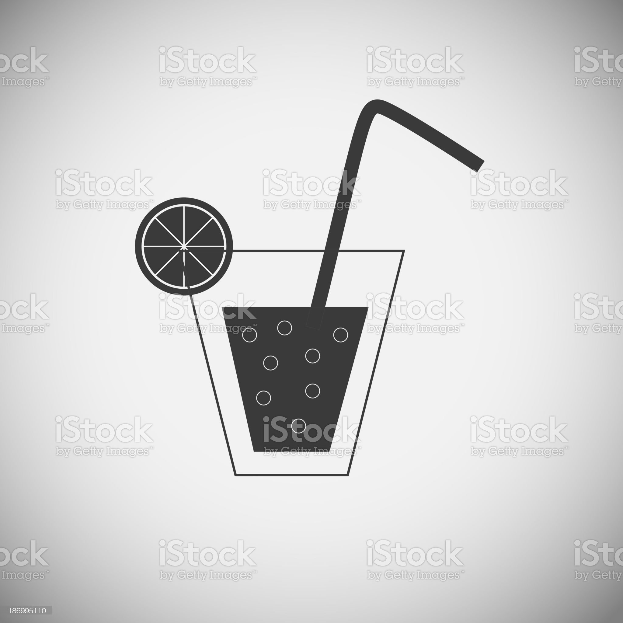 Drink application icons royalty-free stock vector art