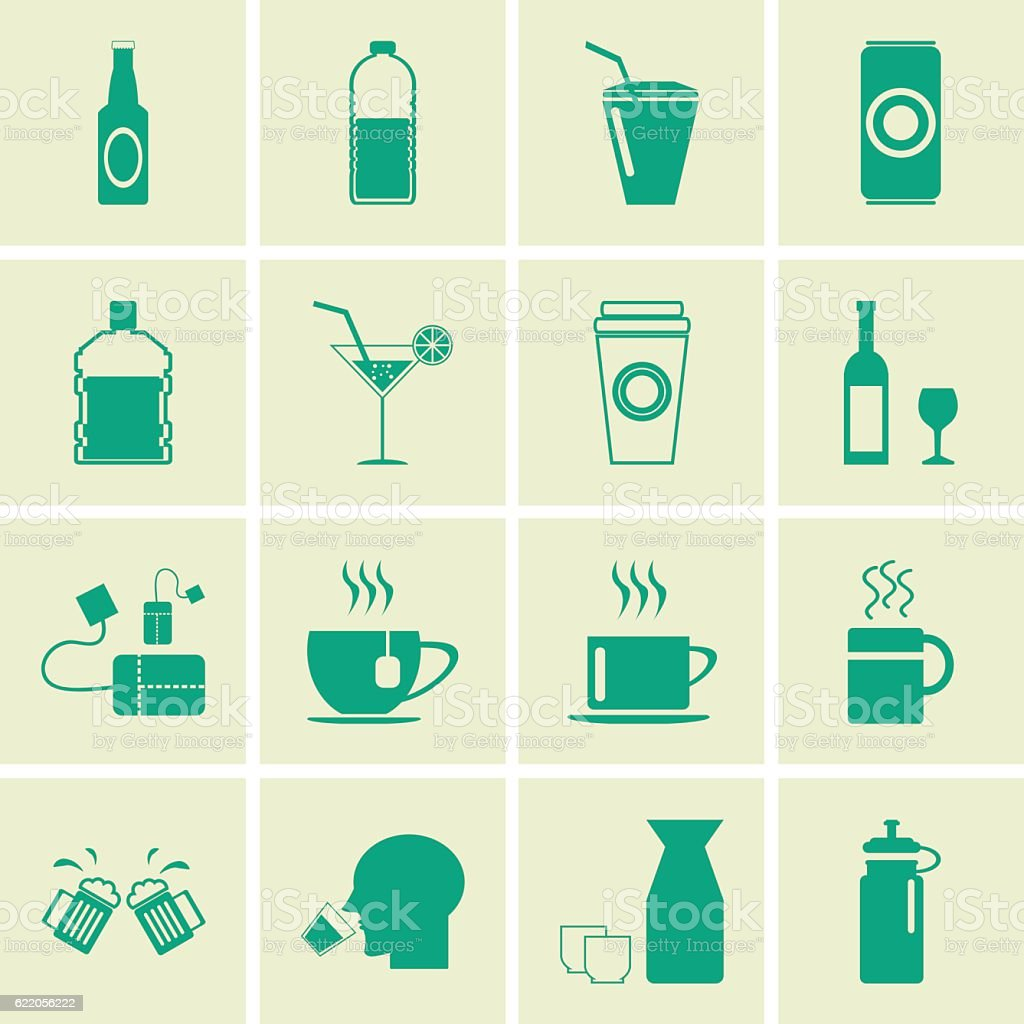 drink icon vector art illustration