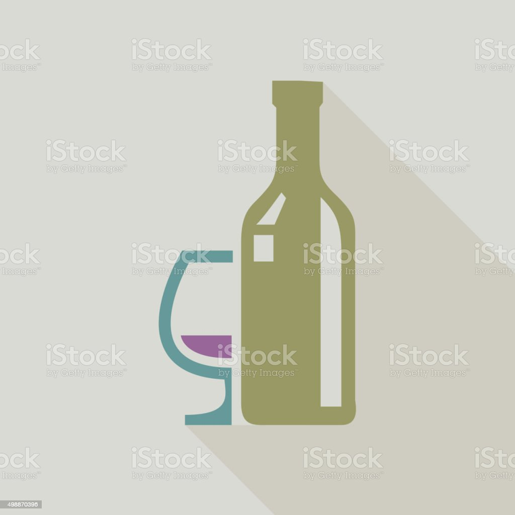 Drinks Icon vector art illustration