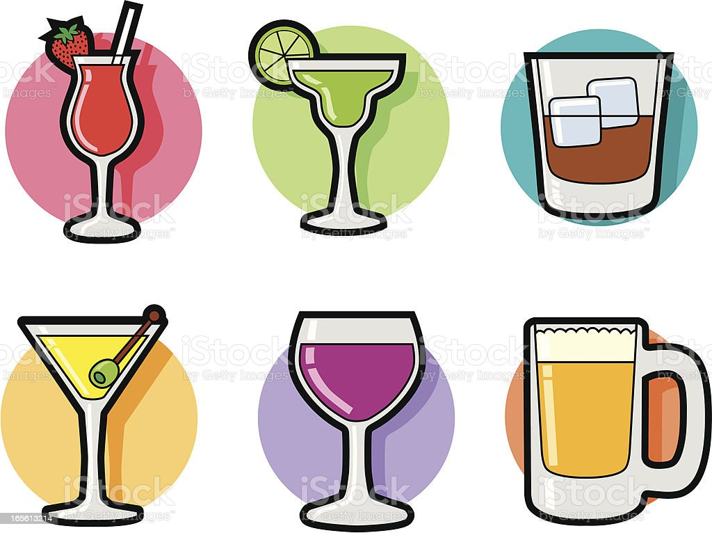 drinks royalty-free stock vector art
