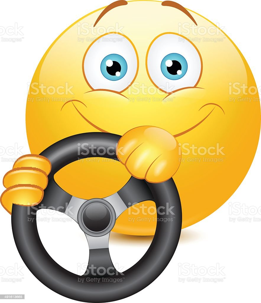 Anime Drive Icons Driving Emoticon Stock Vector 491613665 Istock