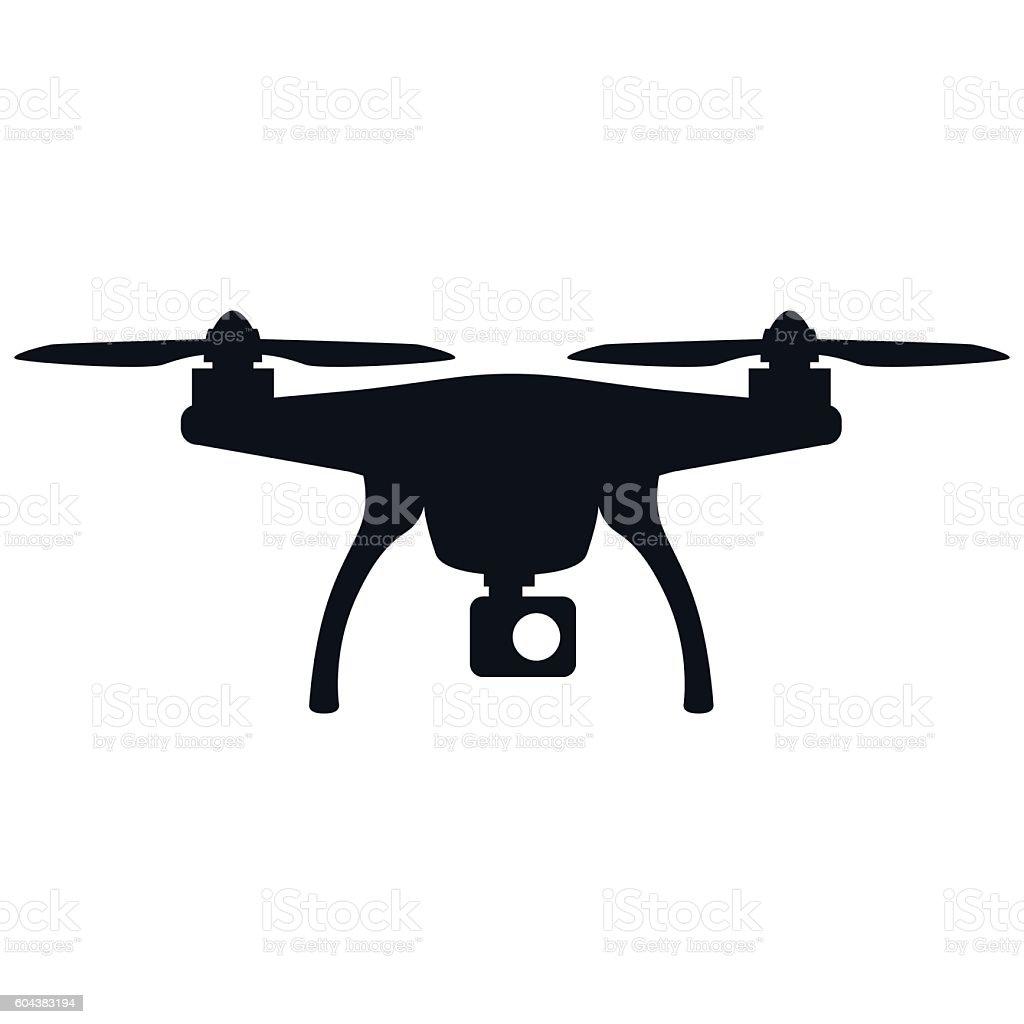 Drone - VECTOR vector art illustration