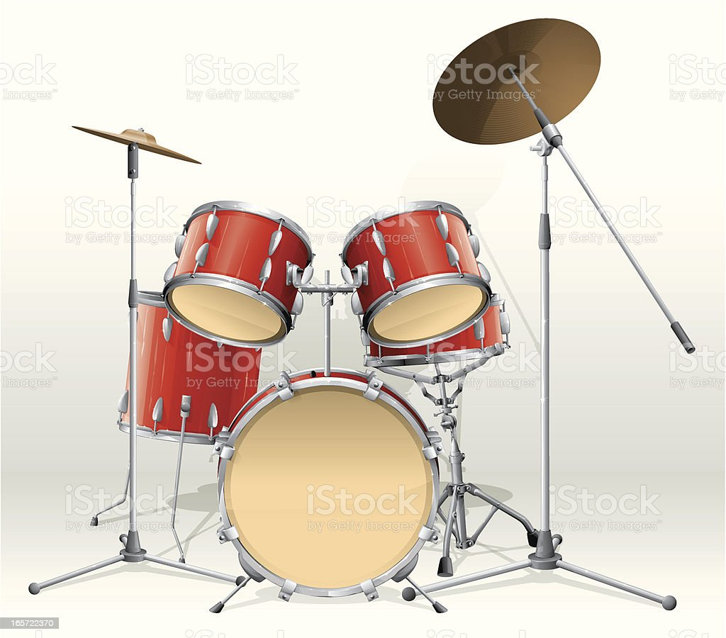 drums royalty-free stock vector art