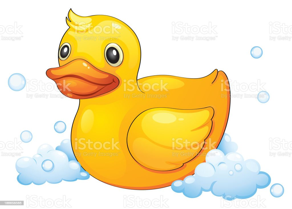 duckling royalty-free stock vector art
