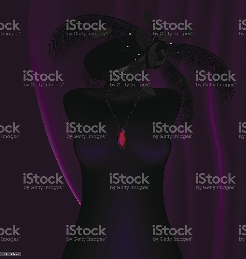 dummy and hat royalty-free stock vector art