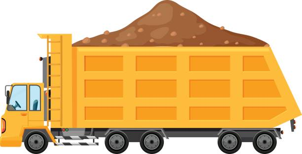 Dump Truck Clip Art Clip Art, Vector Images & Illustrations - iStock