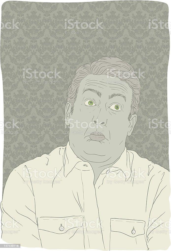 I Dunno?!! royalty-free stock vector art